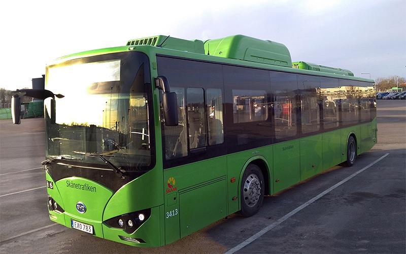Elektrische BYD Bus