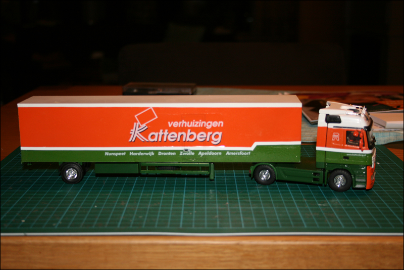 Kattenberg Verhuizingen - Schaalmodel
