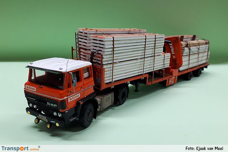 Modelvrachtwagen IsoBouw
