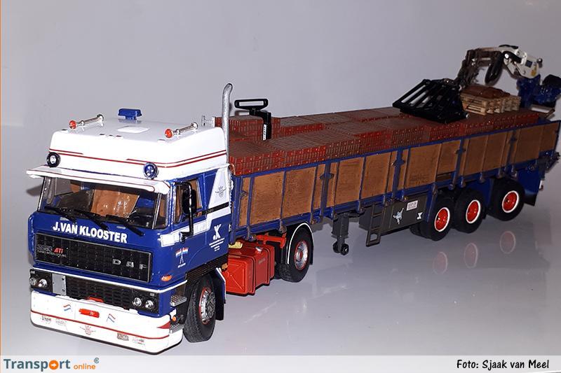 Modelvrachtwagen J. van Klooster