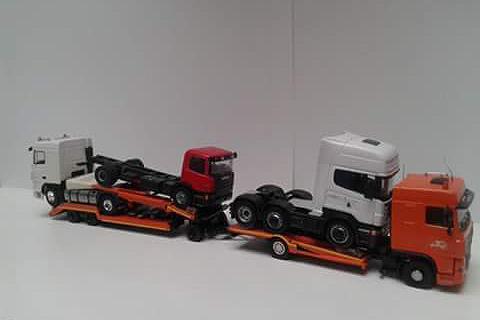 Modelvrachtwagen