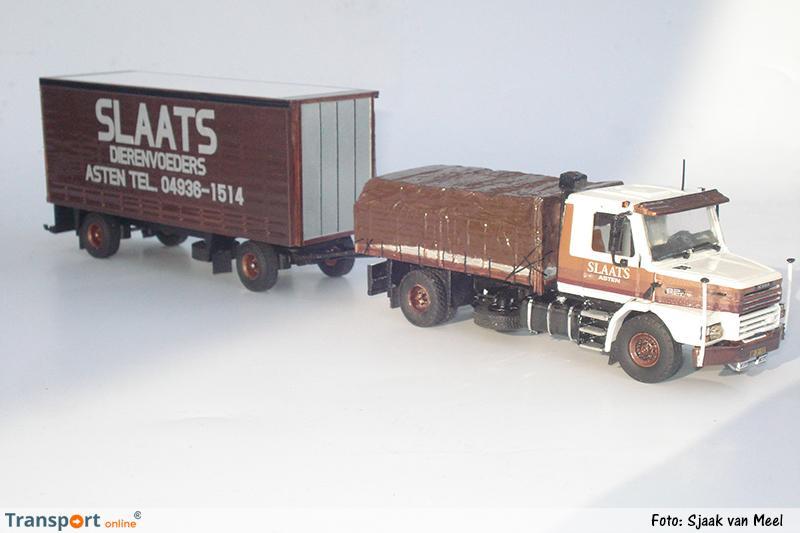 Modelvrachtwagen Staals