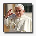 Pelgrim stort zich op Paus