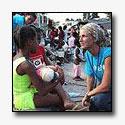 Hulpverlening in Haïti komt op gang