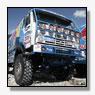 Kabirov pakt leiding bij trucks in Dakar