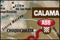 Dag 6: Arica - Calam