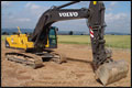 Volvo EC 290 graafmachine gestolen in Duitsland