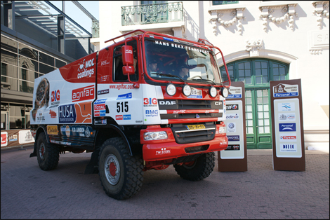 Hans Bekx Dakar 2011