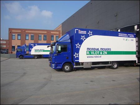 Transport Online Mondial R Vlot Zn Betrekt Nieuw Onderkomen