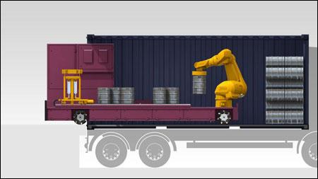 transport binnen magazijn