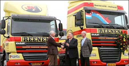 Van Reenen Barneveld.Transport Online 250ste Daf Voor Van Reenen Transport In