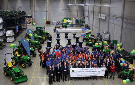 john deere's achieving excellence program aep Caterpillar introduction there has been an impressive response to the program's first questionnaire, with 150 (50%) of the target sample of 302 companies responding.