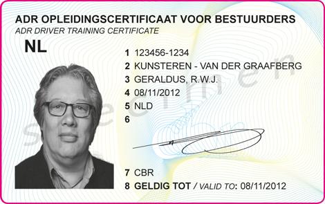 ADR VLG certificaat