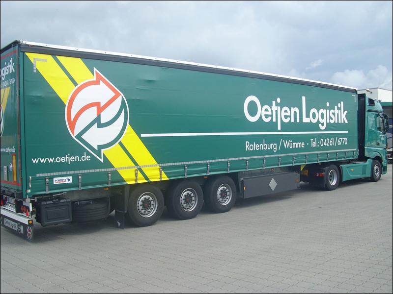 Oetjen Logistik Tracking Support