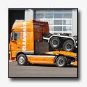 TSR Special Trailers levert twee nieuwe truck transporters aan Cleanmat