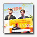 Holland Container Innovations winnaar Shell LiveWIRE Young Business Award 2009