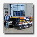 Nieuwe trailer voor firma Veldhuisen