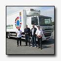Nieuwe DAF CF75.310 voor De Rocker Logistics voor distributie in Nederland