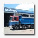 Bijzondere asconfiguratie op Scania G480 asfaltkipper van Burggraaf b.v.