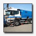 Scania P 280 xpi hoogstandje voor Volker Stevin Materieel