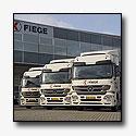 Twaalf Mercedes-Benz Actros trucks voor FIEGE Zaandam
