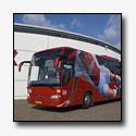 AFC Ajax krijgt nieuwe Mercedes-Benz spelersbus