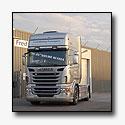 Eerste nieuwe Scania R-serie in Nederland voor Fred Biskop Transport