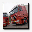 Vijftien nieuwe Actros trucks voor Breewel Transport