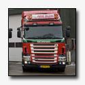 G. Vlastuin rijdt met vijf nieuwe Scania trucks