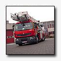 Unieke Renault Premium hoogwerker voor Brandweer Deinze