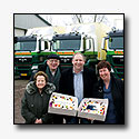 Drie nieuwe MAN TGS trekkers voor Thijssen Transport in Millingen aan de Rijn