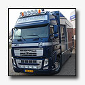 Volvo FH met mobiele meldkamer voor FE Productions