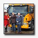 Nieuwe voertuigen Gemeente Tytsjerksteradiel zijn Scania EEV's