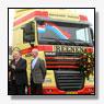 250ste DAF voor Van Reenen Transport in Barneveld