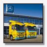 Zes nieuwe Mercedes-Benz Actros trucks voor De Rijke Groep