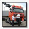 Multi inzetbare DAF FTM XF105.510 trekker voor Peinemann Lifting Solutions