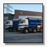 Scania's met bandlossysteem voor Romers Transport