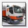 Nieuwe DAF FA LF45.220 bakwagen met de ultra schone EEV motor voor Gebr. Stip Sloopwerken