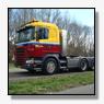 Scania levert de eerste Euro 6 voor zwaar transport aan AW Groep BV