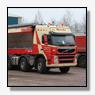 Volvo FM 10x4 met onderlossysteem voor Mussche Transport