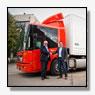 Negentien nieuwe kastentrailers voor Vos Logistics