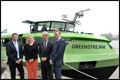 Minister Schultz geeft startsein voor eerste LNG-aangedreven binnenvaarttanker
