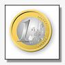 Euro daalt tot laagste punt in zestien maanden