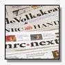 Oplage kranten weer in de min
