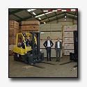 Hyster heftruck primeur voor International Plywood