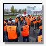 Werknemers zetten met wilde staking C1000 onder druk