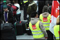 Streep door 172 vluchten in Düsseldorf
