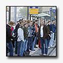 Passagiers gratis met de bus door acties buspersoneel
