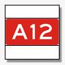 Tourincar rijdt tegen betonnen wand op A12