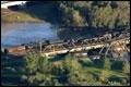 Canadese chemietrein ontspoord op verzakte brug in Calgary [+video]